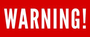 Warning Cognovit Note